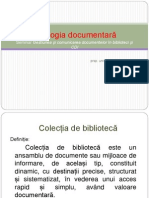 Tipologia Documentara