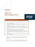 What Are Psychological Tests