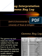 Gamma Ray Log
