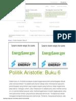 Aristotle Politik_ Buku 6 Panduan Belajar _ Novelguide