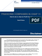 Financing Chapter 11