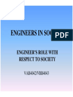 Microsoft Powerpoint Eis Engineers Role With Respect to Society