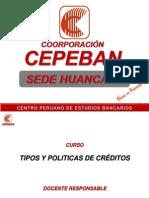 Politicas de Creditos - 1ra Clase