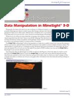 Data Manipulation in MineSight® 3-D