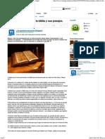 50 Curiosidades Sobre La Biblia y Sus Pasajes. - Taringa!