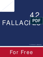 42 Logical Fallacies to become acquainted with