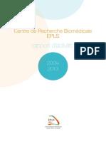 Rapport d'activité du CRB EPLS