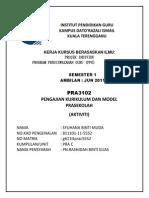 Assignment Aktiviti Prasekolah