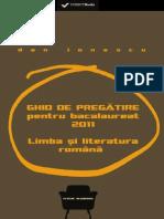 (Preview) 978-606-599-752-3-Ionescu Dan - Ghid de Pregatire Bacalaureat 2011 Romana