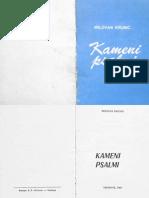 Kameni psalmi (Milovan Krunić)