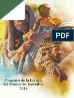 Escuela Teocrática 2014 - Version 1.2 RGC