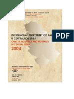 Registar Za Rak u Centralnoj Srbiji 2004