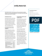 SGC Detector Assembly Materials Data Sheet