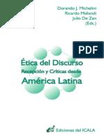 Actas-Coloquio Etica Del Discurso 2006