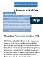 6. Marketing Pharmaceutical Care