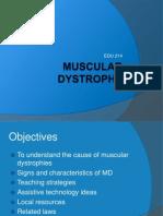 Muscular Dystrophy Presentation