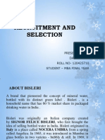 Final Ppt Recruitment and Selection