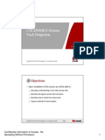 Microsoft PowerPoint - OEO000020 LTE eRAN6.0 Access Fault Diagnsis ISSUE1