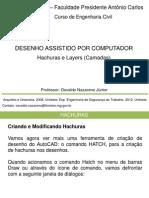 Hachuras e Layers (Camadas) 05-10