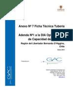 Anexo 7 Especificaciones Tuberia HDPE V0