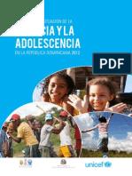 Analisis de La Situacion de La Infancia y La Adolescencia en La Republica Dominicana 2012
