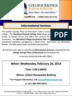 College Savings Plan UMD CP Flyer Feb 2014 (2)
