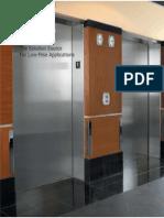 Hydraulic Elevator Brochure