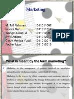 3. Marketing