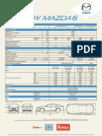Mazda6 2014 Ficha Tecnica