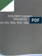 Instrukcja Napraw URSUS 912 914 1012 1014 1222 1224 1614