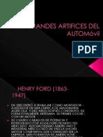 Los Grandes Artifices Del Automovil Diego y Ingrid