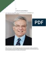 Studie Unter Der Leitung Von Prof. Dr. Jacobus Pfisterer