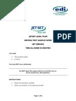 Jetset Level 4 Writing Sample %28jet Version%29