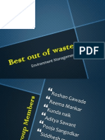 Best Out of Waste Ppt (1)