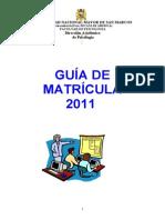 Guia de Matricula 2011
