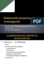 Elaboración proyectos de investigación