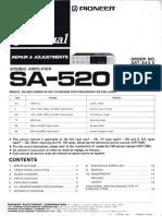 Pioneer Sa 520