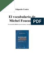 Foucault, su vocabulario