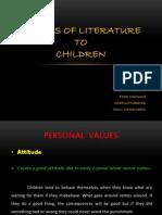 Values of Literature