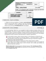 Info2 Final DCI Diurno A