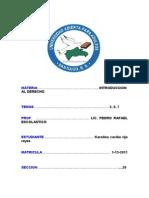 Int. Al Derecho, Unidades 5, 6, 7