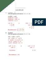 Math 125 - Quiz 5 - 1 - Solution