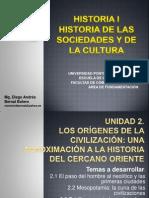 Unidad 2 Los orígenes de la civilización