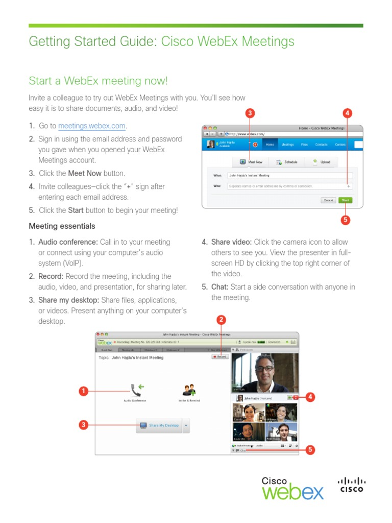 Cisco Webex Meeting | Cisco Systems | I Phone