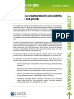 Why focus on environmental sustainability in the post-2015 development agenda?