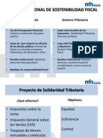 Proyectos de Ley Tributarios Marzo 2012