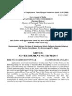 Advt. No. ER-01-2014 English Version