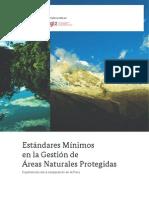 Estándares Mínimos en la Gestión de Áreas Naturales Protegidas