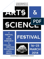 Arts & Science Festival (16-23 March 2014)