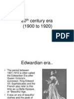 20th Century Era
